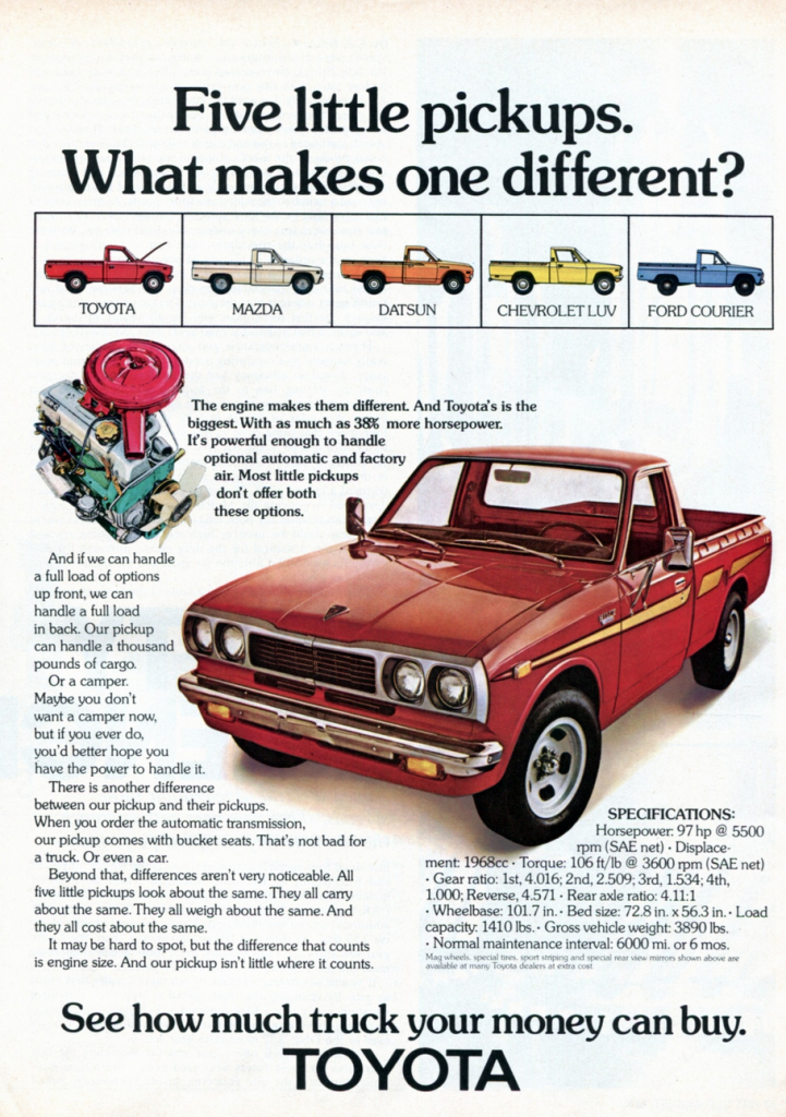 70s Madness 10 Years Of Classic Pickup Truck Ads