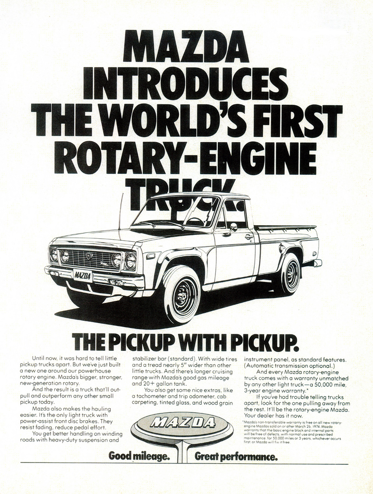 2016 Ford Trucks >> '70s Madness! 10 Years of Classic Pickup Truck Ads | The Daily Drive | Consumer Guide® The Daily ...