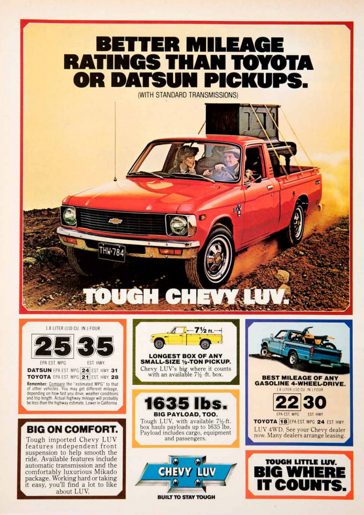 1979 Chevrolet LUV Ad