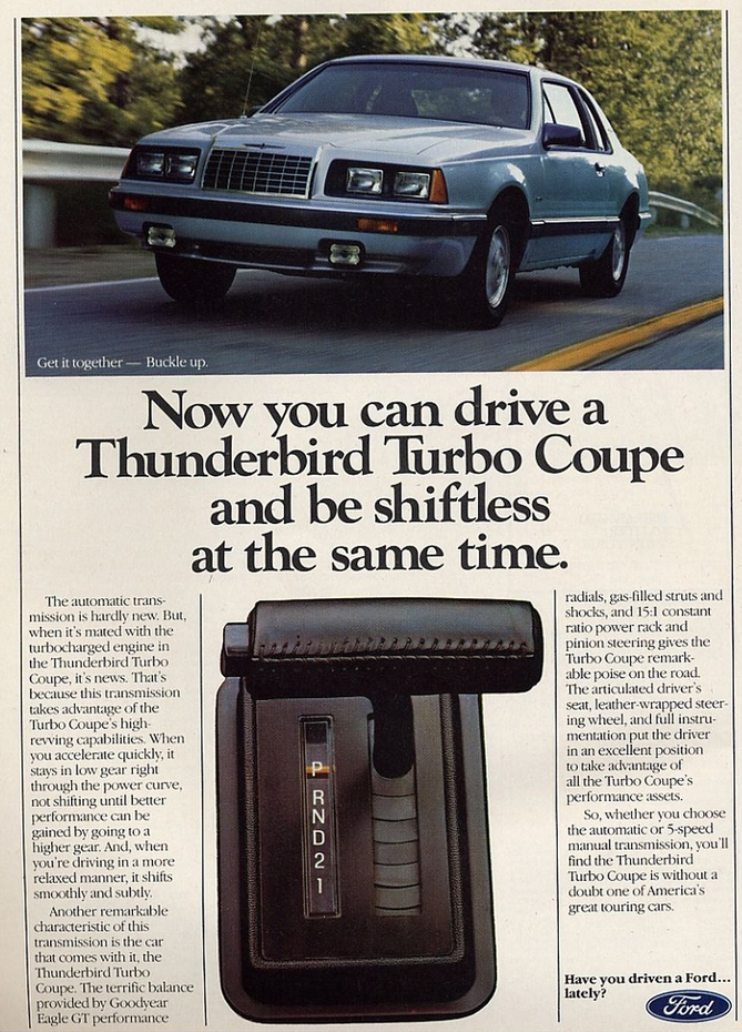 1984 Ford Thunderbird Turbo Coupe