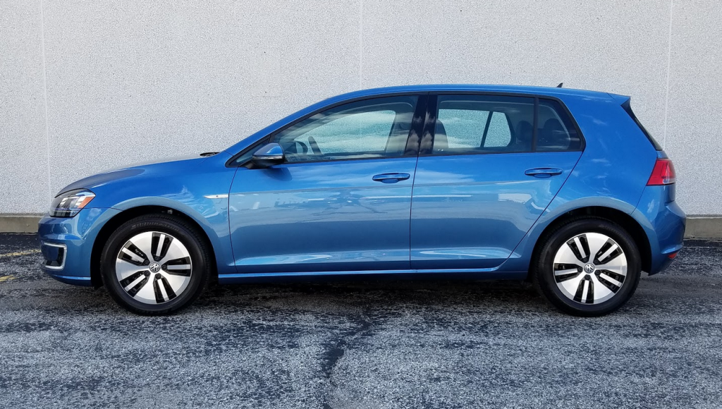 2016 Volkswagen e-golf wheels