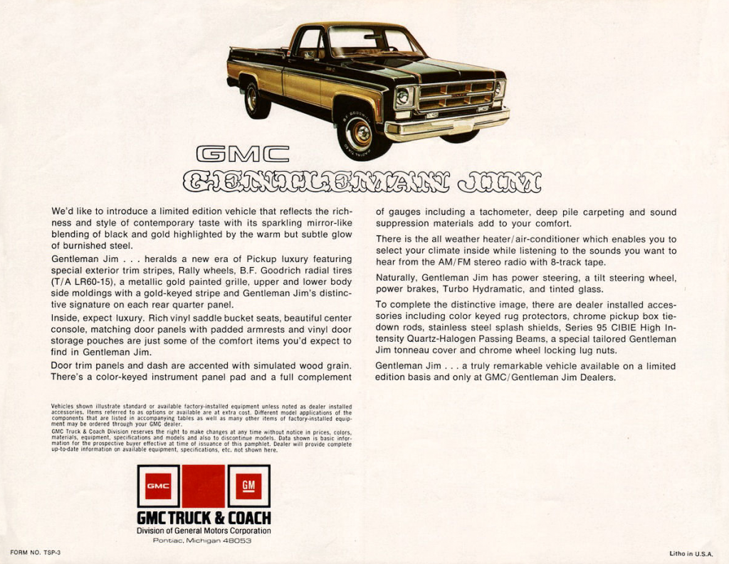 1975 GMC Gentleman Jim