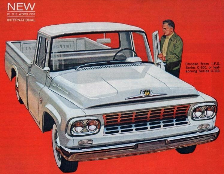 1961 International pickup ad, Classic Pickup Truck Advertising