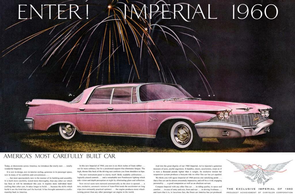 Model-Year Madness! 10 Classic Ads From 1960 | The Daily Drive ...