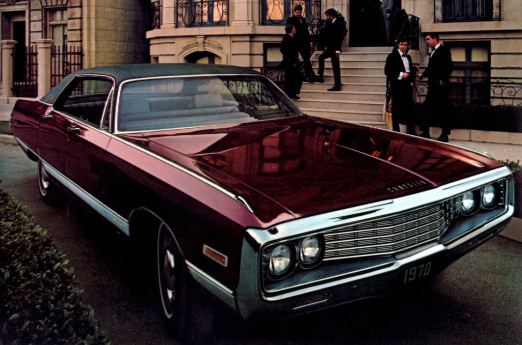 The Luxury Standards Of 1970 The Daily Drive Consumer