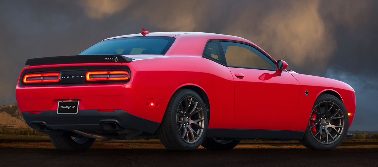 2017 Dodge Challenger Red 200 Interior And Exterior Images