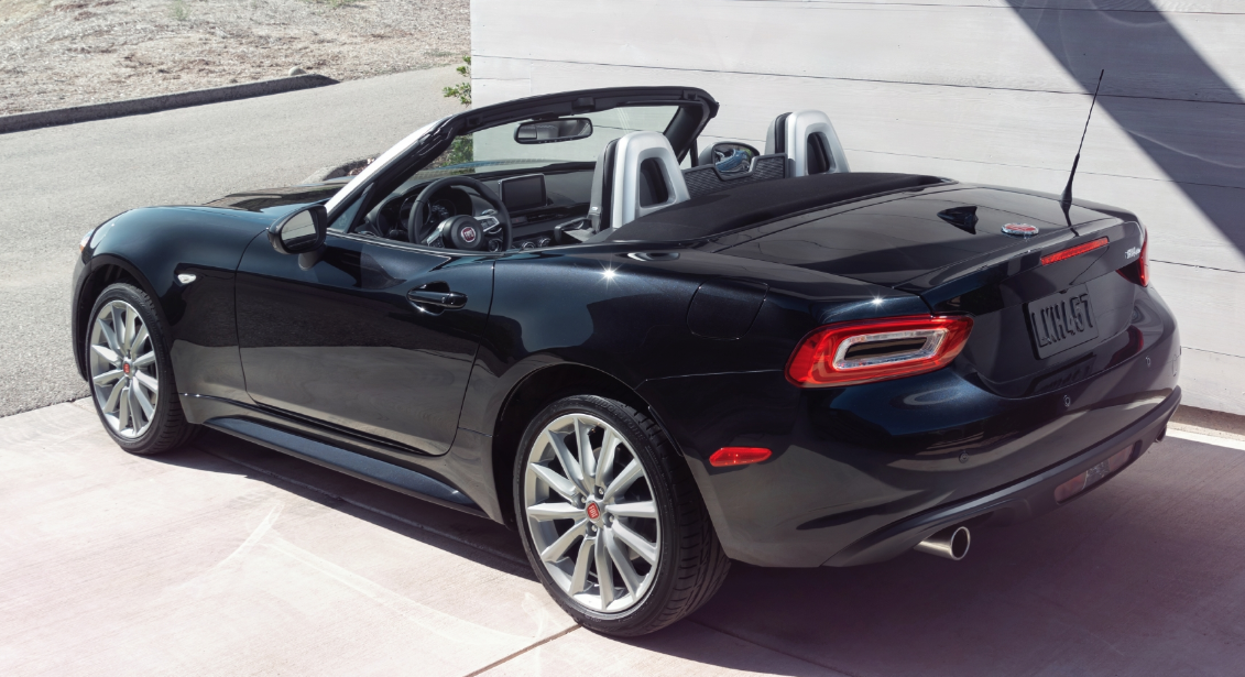2017 Fiat 124 Spider, What's New for 2017: Fiat