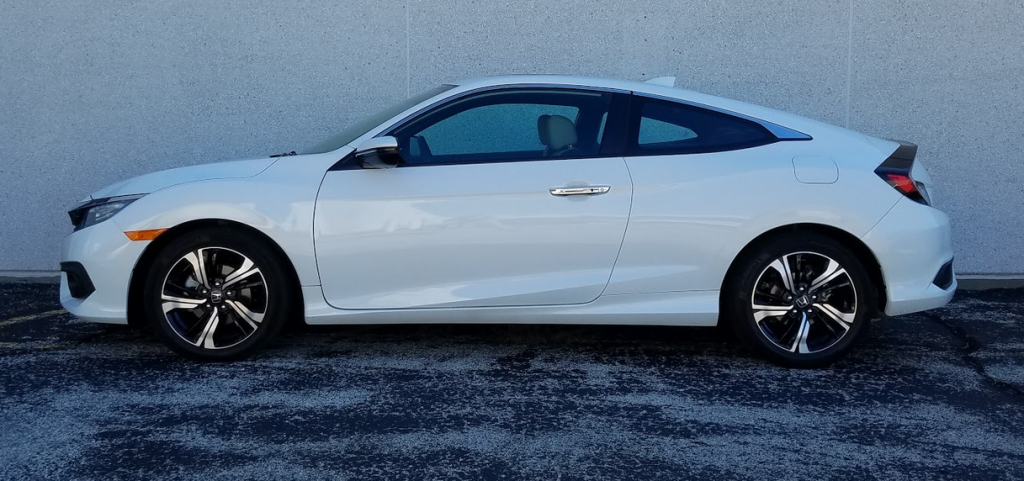 2016 Honda Civic Coupe profile