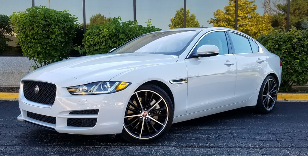 2017 Jaguar in Glacier White