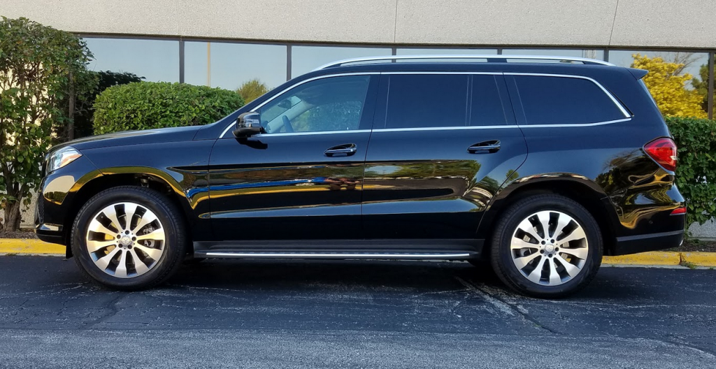 2017 Mercedes GLS450 profile