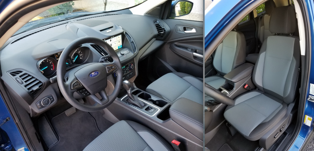 2017 Ford Escape interior SE