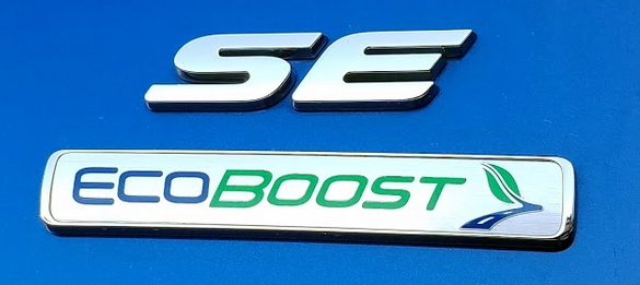 2017 EcoBoost Badge