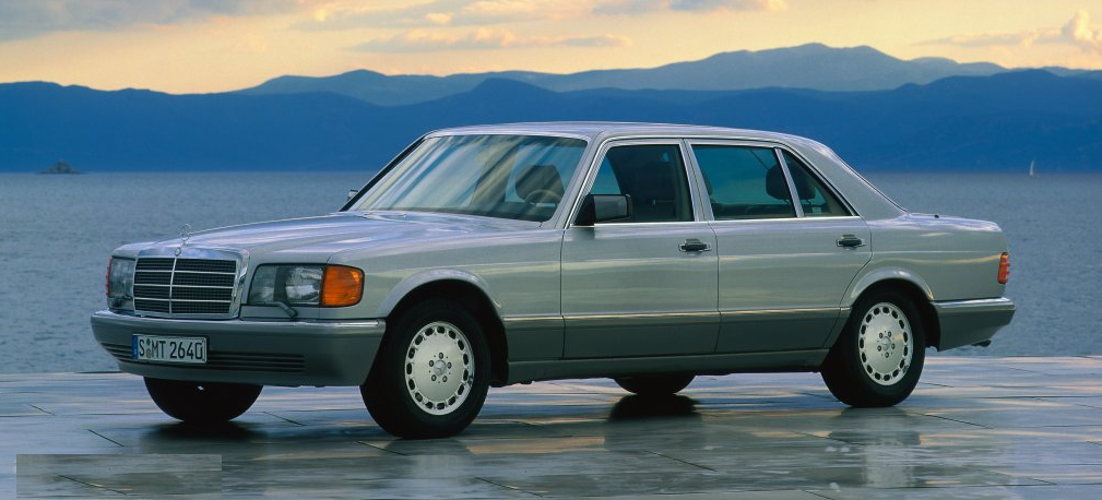 1983 Mercedes-Benz W126 styling