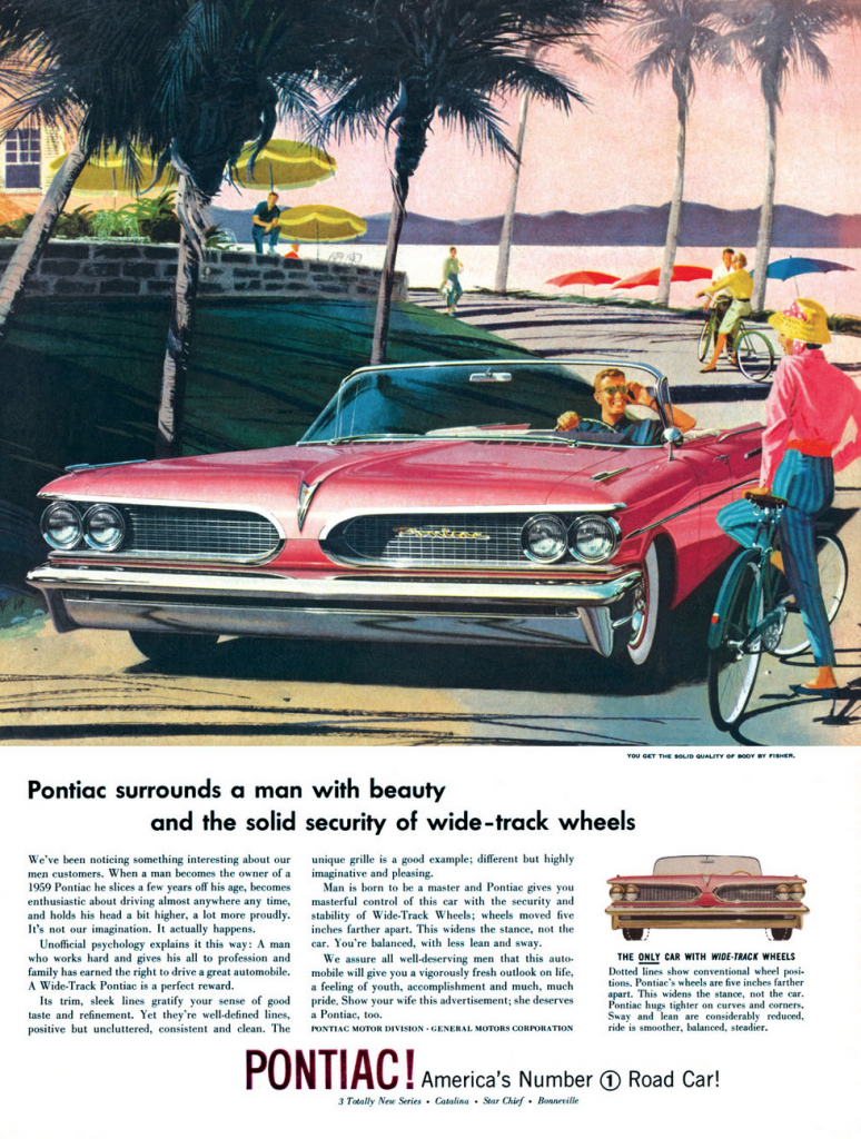 Poncho Madness! 10 Classic Pontiac Ads | The Daily Drive ...