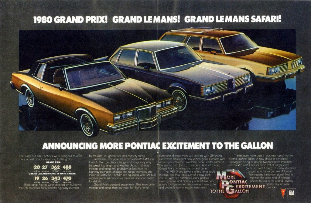 Poncho Madness 10 Classic Pontiac Ads The Daily Drive