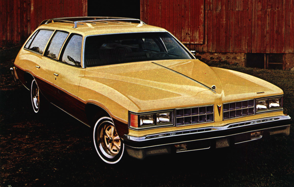 Pontiac Grand LeMans Safari, Midsize Wagons of 1976