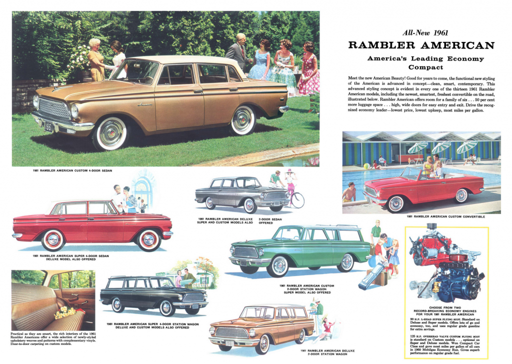 1961 Rambler Ad, Classic Ads from 1961