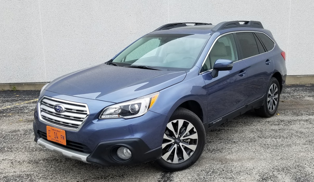 Test Drive 2017 Subaru Outback 36r Limited The Daily Drive