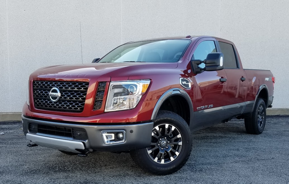 2016 nissan titan pro 4x gas the daily drive consumer guide. Black Bedroom Furniture Sets. Home Design Ideas