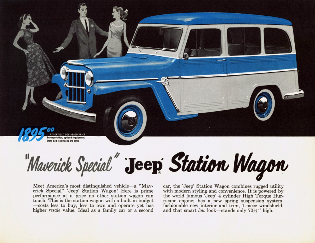 1958 Maverick Jeep Station Wagon