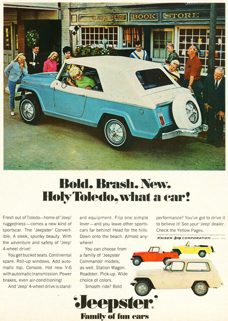 1967 Jeep Jeepster ad