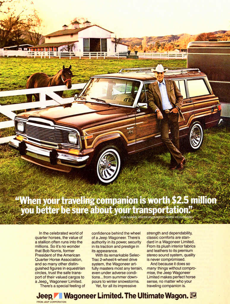 1983 Jeep Grand Cherokee ad