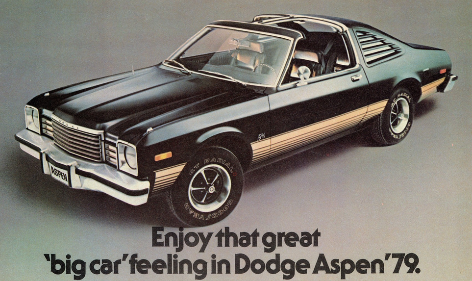 1979 Dodge Aspen R/T , Volaré Road Runner