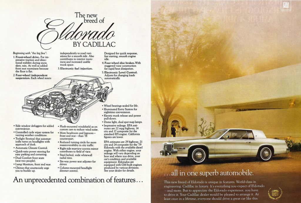Model-Year Madness! 10 Luxury-Car Ads From 1979 | The Daily Drive ...