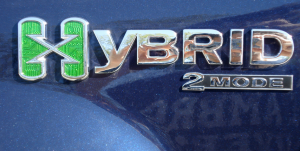 Silverado 2-Mode Hybrid Badge