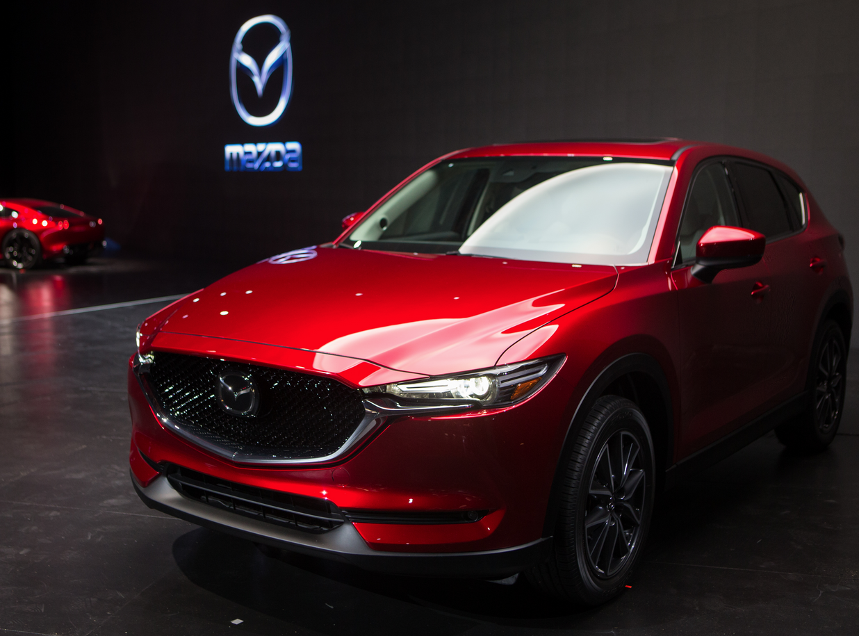 2016 Los Angeles Auto Show: 2017 <b>Mazda</b> CX-5 | The Daily ...