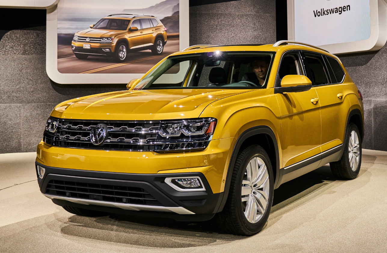 Los Angeles Auto Show Volkswagen Atlas The Daily Drive - Los angeles car show 2018