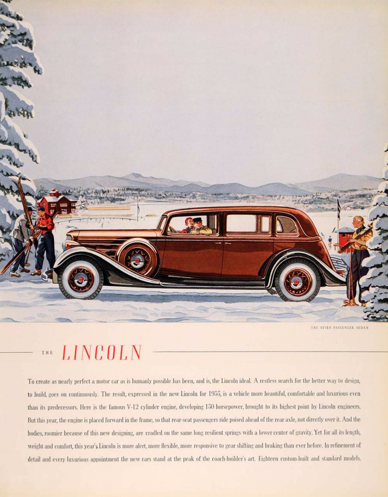 Winter Madness! 10 Classic Car Ads Featuring Snow | The Daily Drive ...