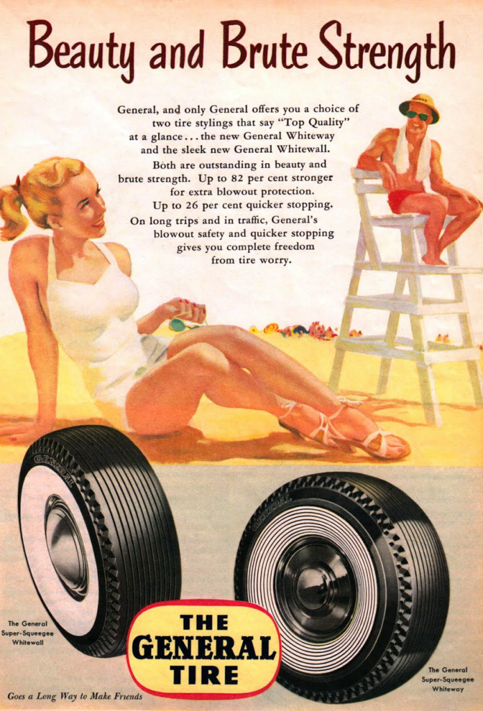 1947 General Tire Ad