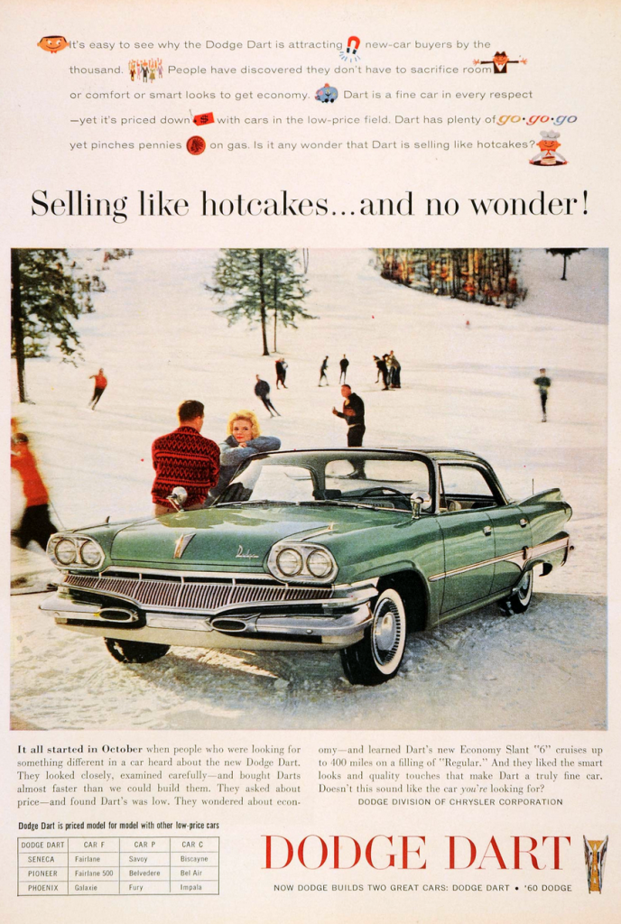 Winter Madness 10 Classic Car Ads Featuring Snow The