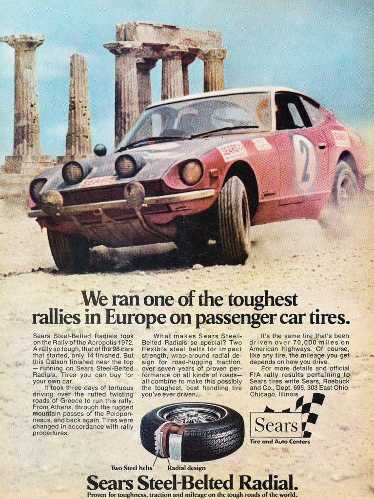 1973 Sears Tire Ad