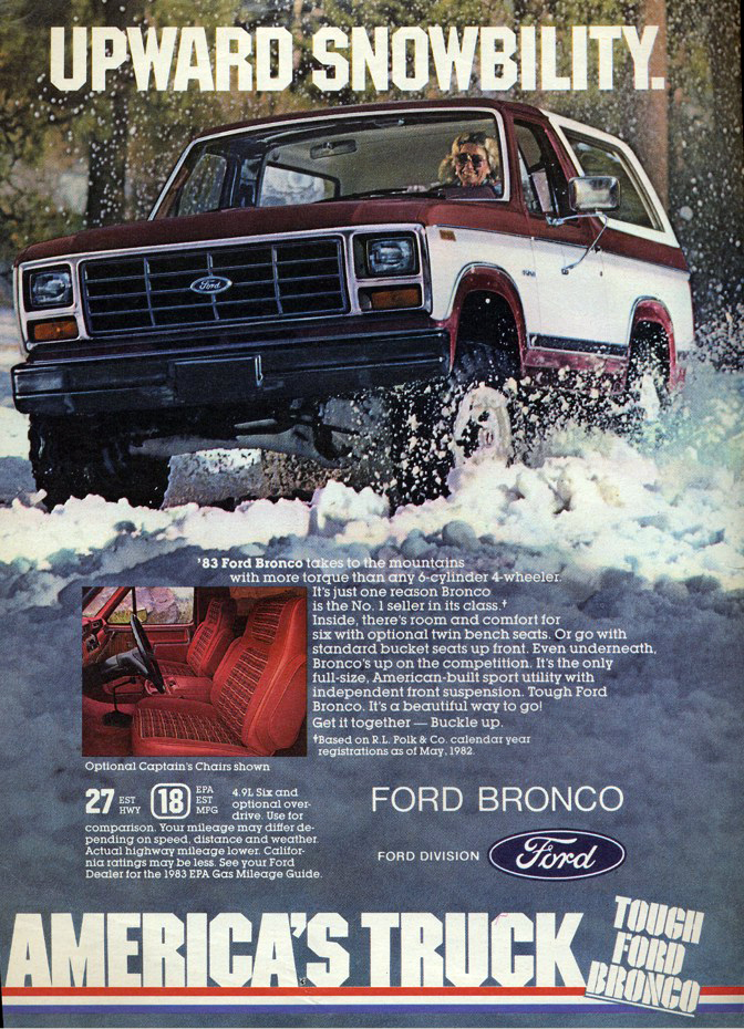 Miami Auto Show >> Winter Madness! 10 Classic Car Ads Featuring Snow | The ...