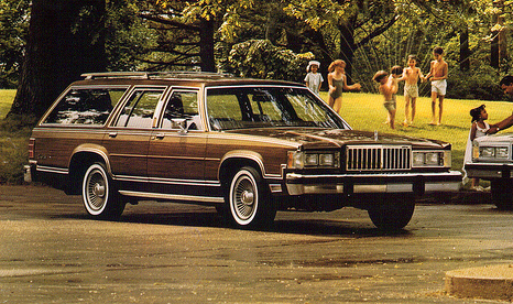 1983 Mercury Colony Park
