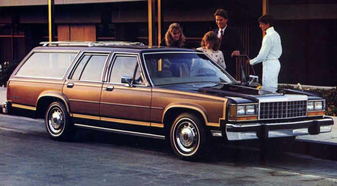 1983 Ford Country Squire Wagon