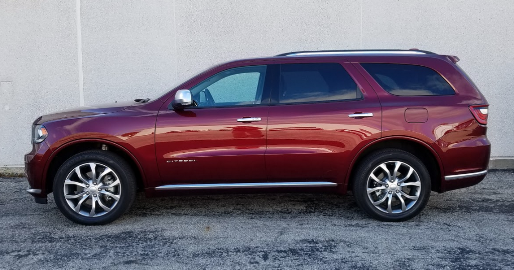 2016 Dodge Durango profile