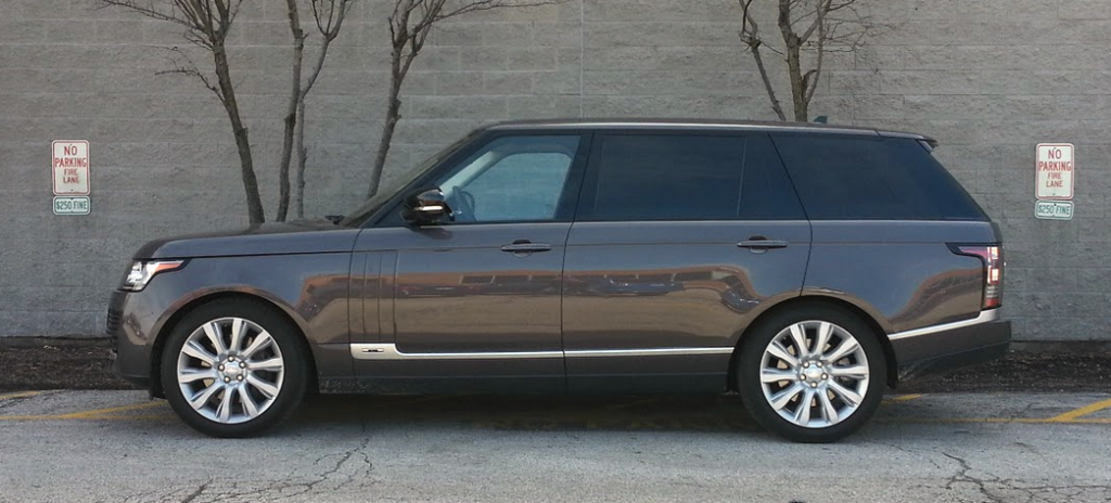 2017 Range Rover Supercharged LWB, profile