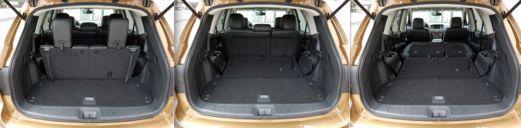 2017 Pathfinder cargo area