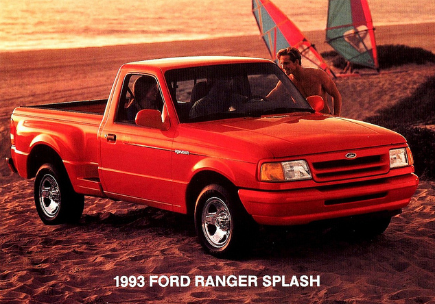 1993 Ford Ranger Splash