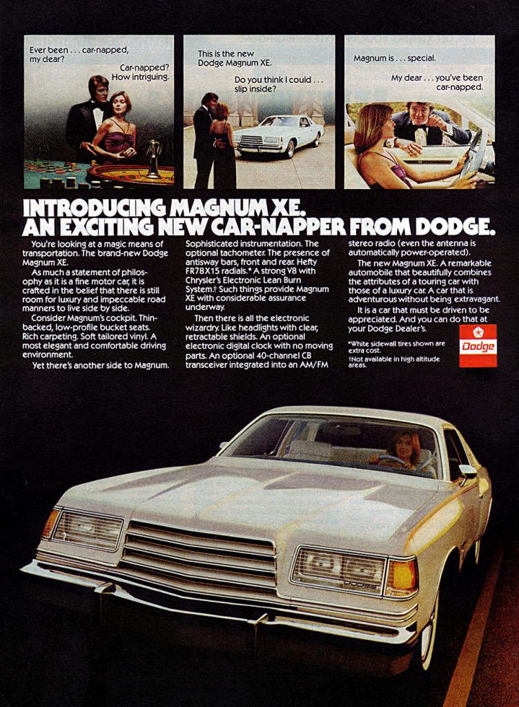 Fratzog Madness 10 Classic Dodge Ads The Daily Drive