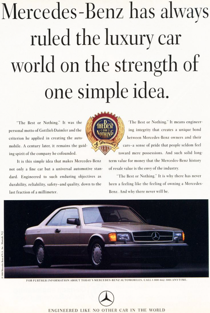 Stuttgart Madness! 10 Classic Mercedes-Benz Ads | The ... | 689 x 1024 png 929kB