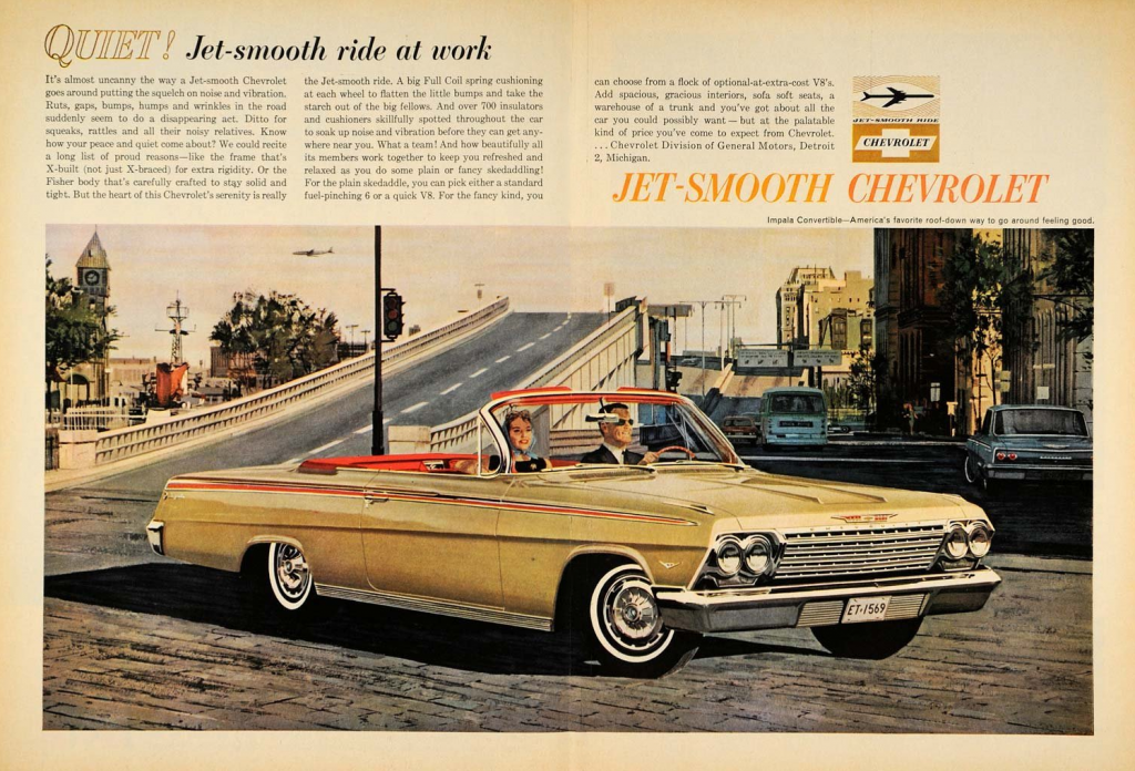 Model-Year Madness! 10 Classic Ads From 1962   The Daily ...