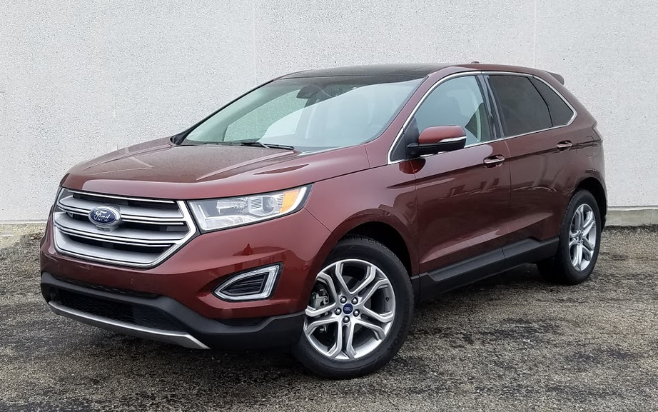 Test Drive 2016 Ford Edge Titanium The Daily Drive