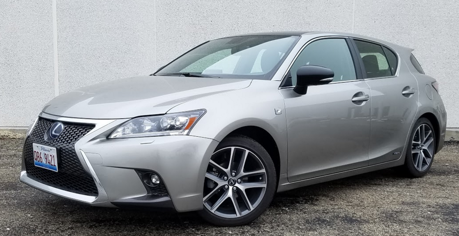 2017 lexus ct 200h f sport the daily drive | consumer guide®