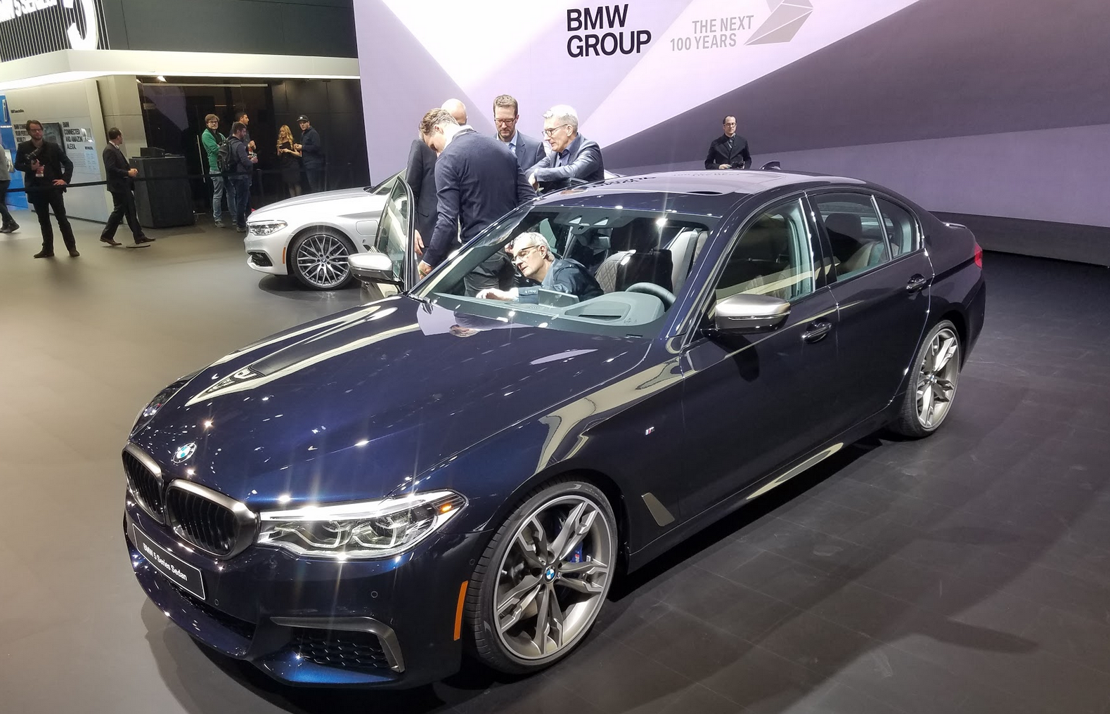 2017 Detroit Auto Show: 2017 BMW 5-Series | The Daily ...