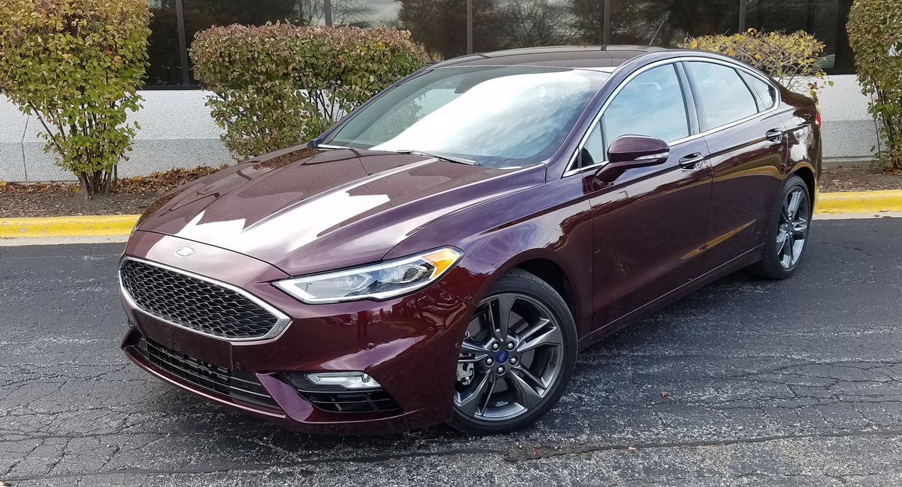 2017 Ford Fusion Mpg >> Test Drive: 2017 Ford Fusion Sport | The Daily Drive | Consumer Guide® The Daily Drive ...