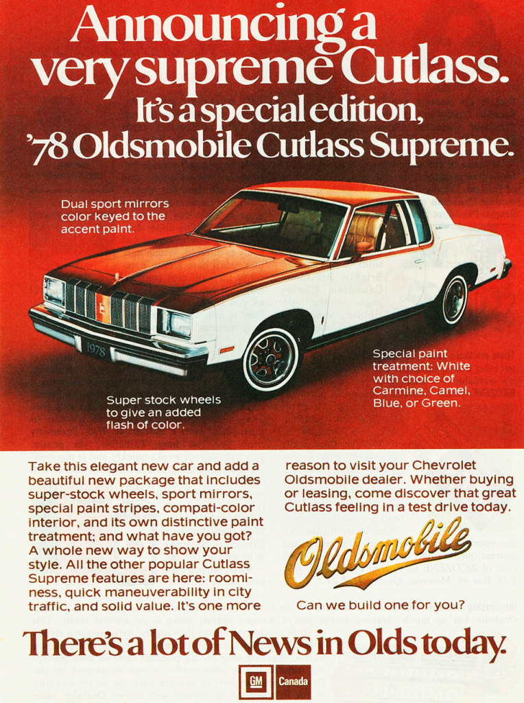 D And D Auto Sales >> Rocket Madness! 10 Classic Oldsmobile Ads | The Daily ...